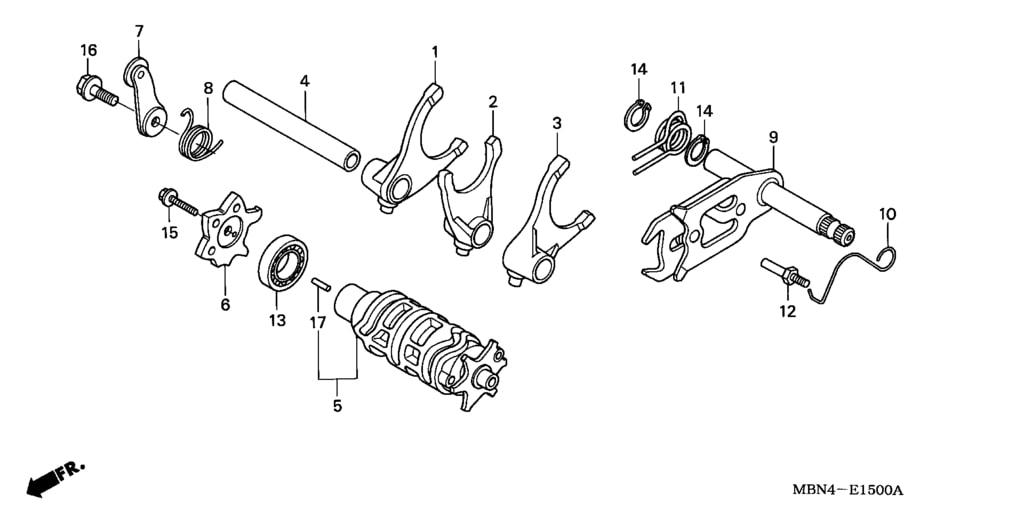 xr650r parts list